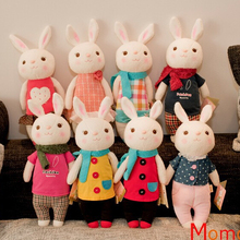 35CM New Original Dolls Cute Rabbit Bunny Toys for Children Stuffed and Plush Toys Very Good Quality!!!! NT003E(China (Mainland))