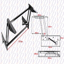 Table Parts With Pop-Up Function ,Laptop Table Parts ,Convertible Coffee Table Mechanism(China (Mainland))