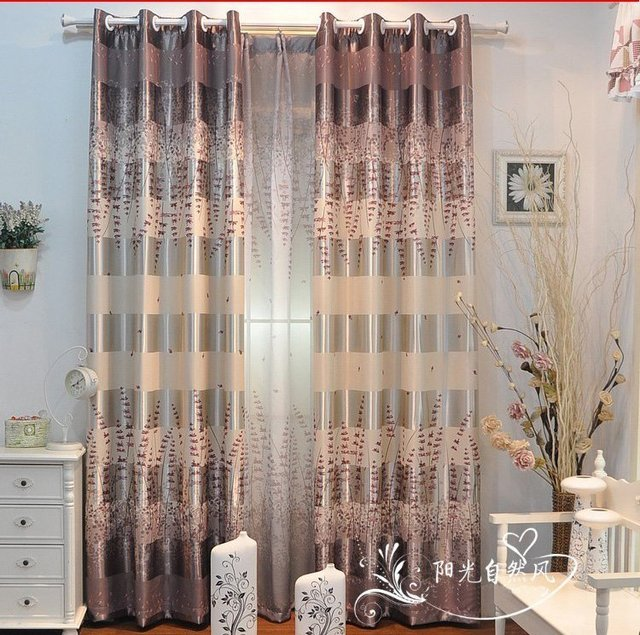2012 style curtains for living room bedroom 140cm x 270cm/pcs free shipping