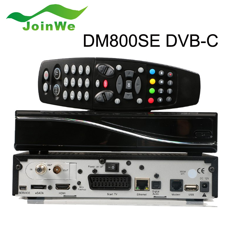 Dm800se Satellite Receiver DVB-C DM800HD SE Cable Tuner DVB 800HD SE-C Cable Receiver DM800 HD SE Engima2(China (Mainland))