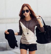 S-XXL HOT SALE CHEAP 2015 New Fashion Women coat Sweatshirts pullover knitted Print jackets blouses Hoodies Sweatshirt casual(China (Mainland))