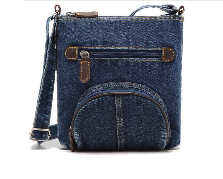 women messenger bags ladies mini small shoulder bag satchels girls crossbody summer sling vintage bag denim bolsos sac a main(China (Mainland))