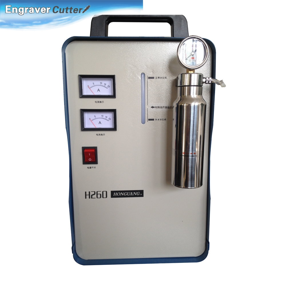 800W Portable Oxygen Hydrogen Flame Generator Acrylic Polishing Machine, 150L 2 Gas Torches free, 220V(China (Mainland))