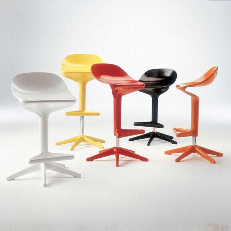 nueva silla spoon europea muebles modernos bares taburete de la barra de