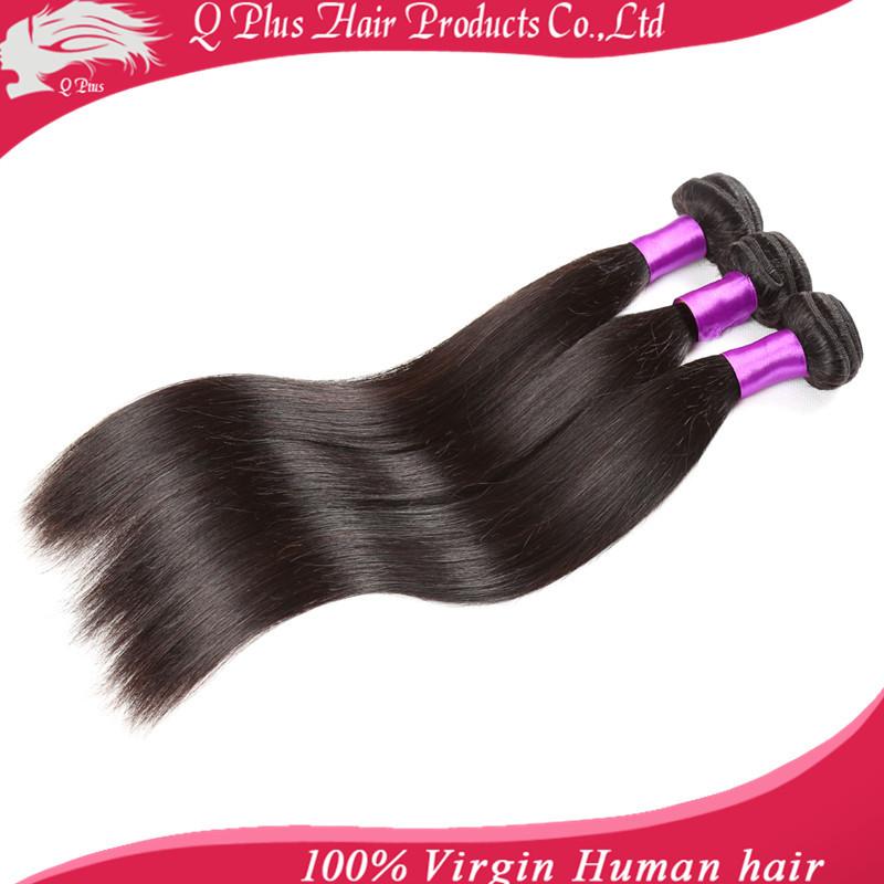 Brazilian Virgin Hair Straight 3PCS 7A Unprocessed Virgin Hair 100 Cheap Human Hair Weave Bundles Brazilian Straight Virgin Hair(China (Mainland))