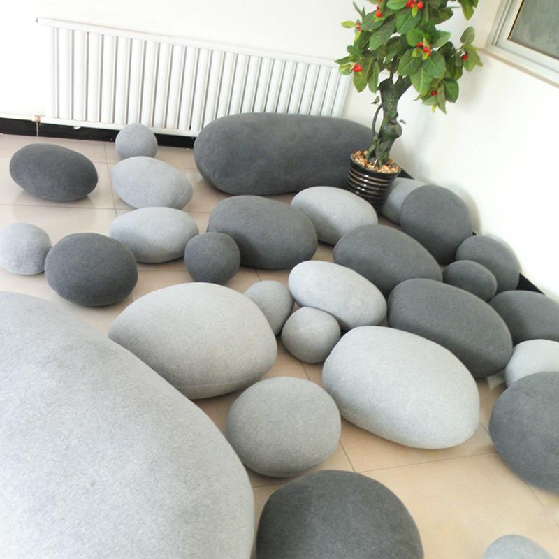 Creative pebble stone decorative sleeping pillow massager  : Creative pebble stone decorative sleeping pillow massager cushion creative personalized home sofa scene layout toys from www.aliexpress.com size 800 x 800 jpeg 646kB