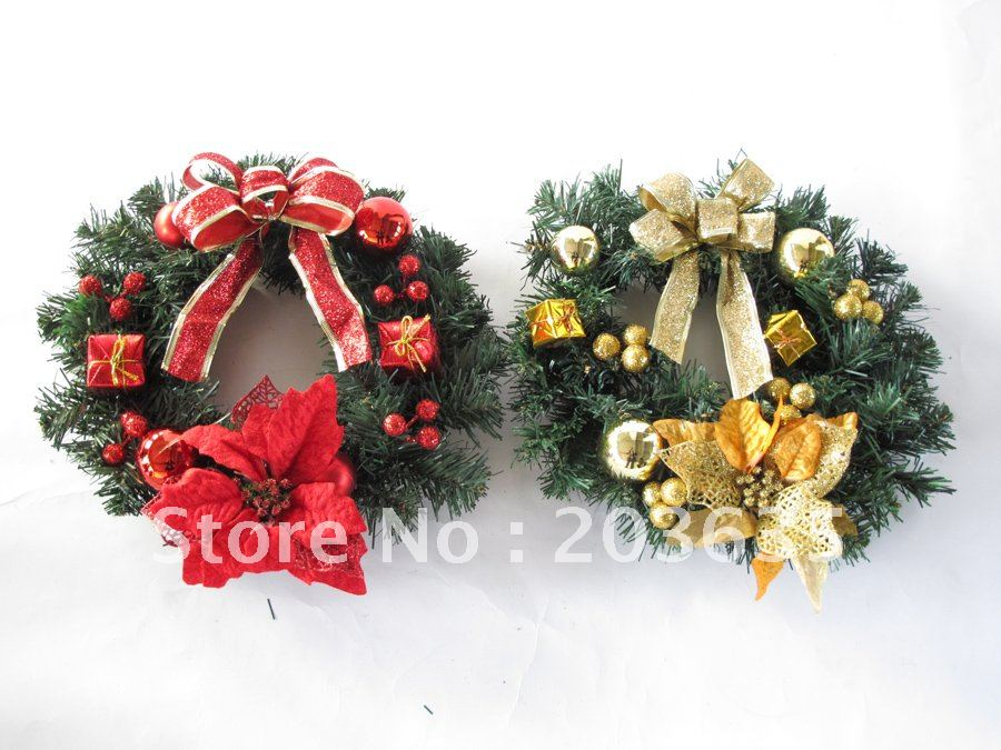 Cm christmas wreath garland decoration