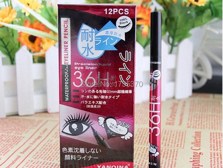 2016 Nova venda Quente À Prova D' Água Preto Delineador Líquido Make Up Beauty Eye Liner Lápis de Alta Qualidade
