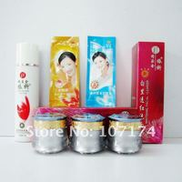 Original New product YiQi Beauty Whitening cream 2+1 Effective In 7 days Facial cleanser Purple cap