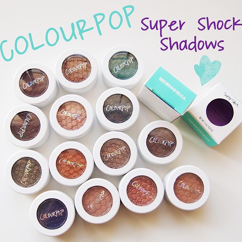 2016 Hot Sale New Makeup COLOURPOP Super Shock Durable Waterproof Monochromatic Eye Shadow Eyeshadow 20 Colors A0332(China (Mainland))