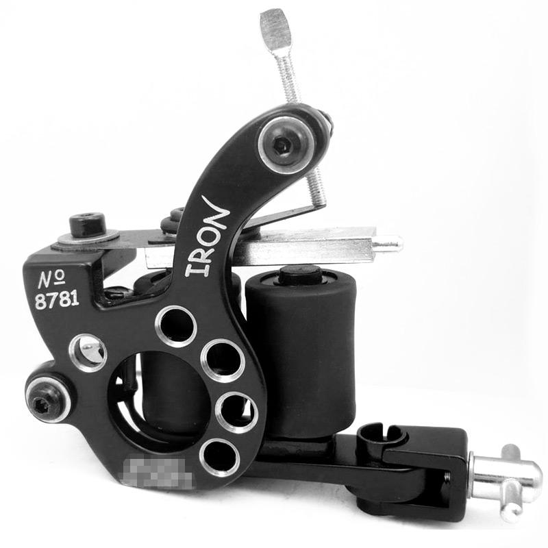 Professional Casting Iron Tattoo Machine 10 Wraps coil stainless steel Tattoos Body Art Gun Makeup Tool<br><br>Aliexpress