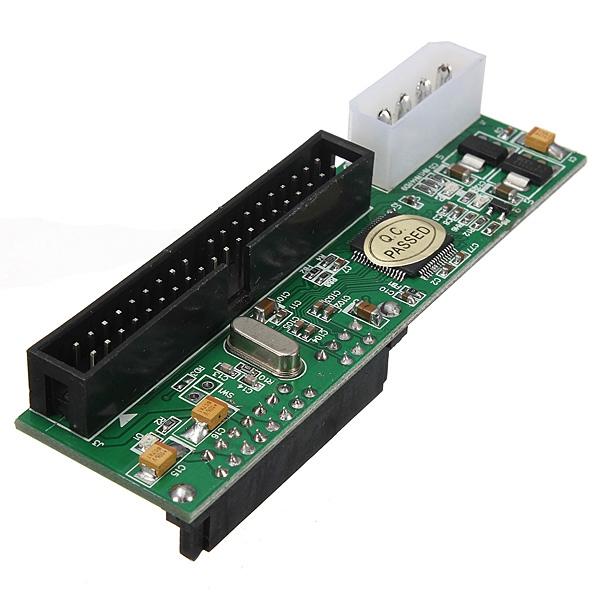 Good Quality 2.5/3.5 Inch Hard Drive Serial SATA to ATA IDE PATA Card 40 Pin HDD CD DVD Converter Adapter(China (Mainland))