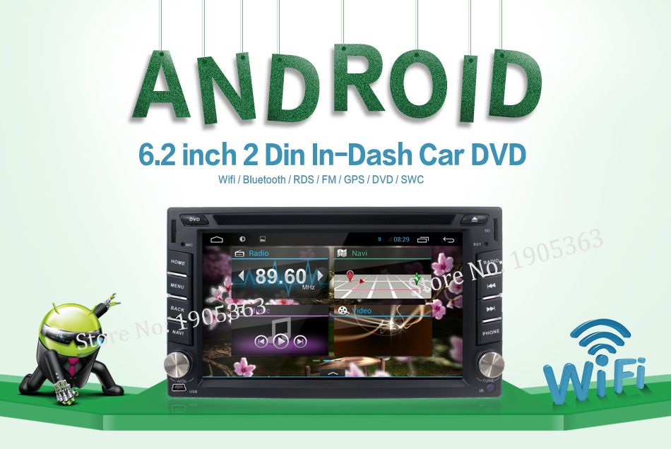 product Quad Core Android 4.2 Car DVD Player GPS Navi PC For Toyota Tiida Qashqai Sunny X-Trail Paladin Frontier Patrol Versa Livina