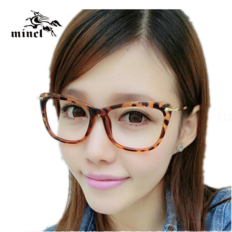 Best Glasses Frames For Big Eyes : Vintage-ultra-light-glasses-cat-eye-leopard-print-mirror ...