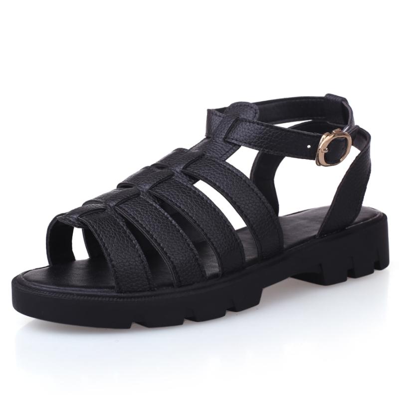 low price 2015 platform sandals open toe bandage