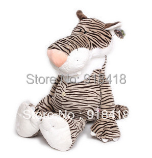 Retail PP cotton Super huge size plush stuff dolls 100cm-39.3inch tiger pocoyo plush toys brown  color<br><br>Aliexpress