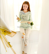 free shipping Lemon shirt long-sleeve akkadian national trend women's fluid chinese style female top chinese style