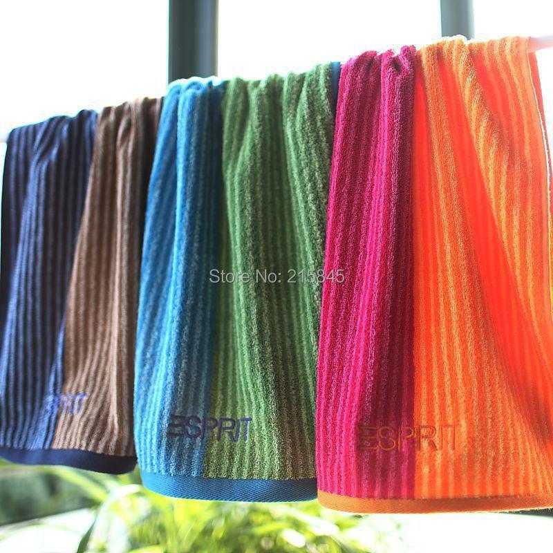 High Quality 100 Cotton Stripped Bath Towel Beach Towel Big Size Brand Towels 85