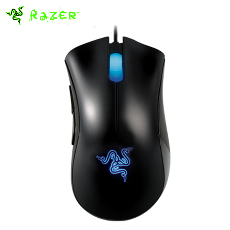 100% Original Razer Deathadder 3500DPI 3.5G Gaming Mouse Brand New with Retail Package(China (Mainland))