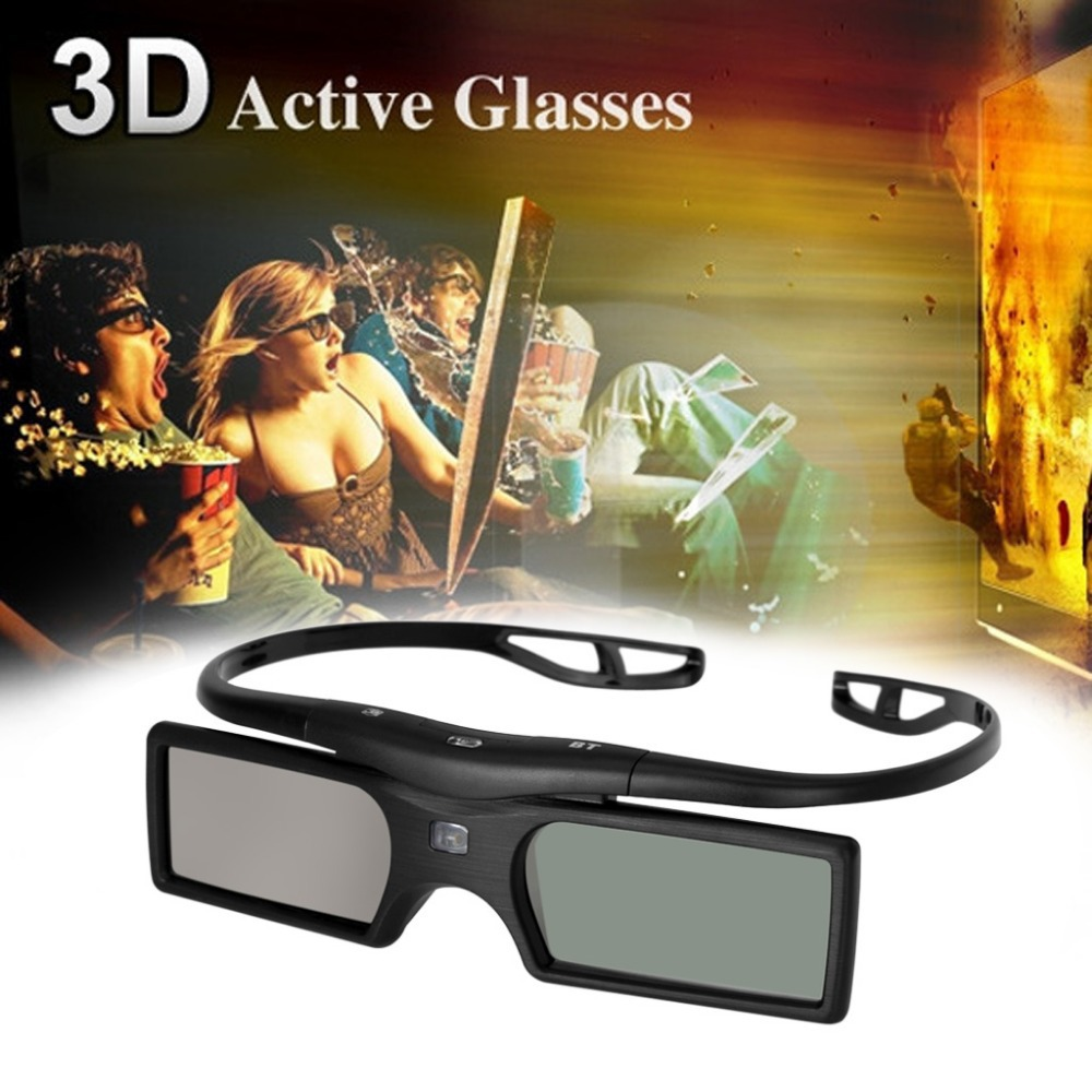 New Bluetooth 3D Shutter Active Glasses For Samsung/Panasonic for Sony 3DTVs Universal TV 3D Glasses(China (Mainland))