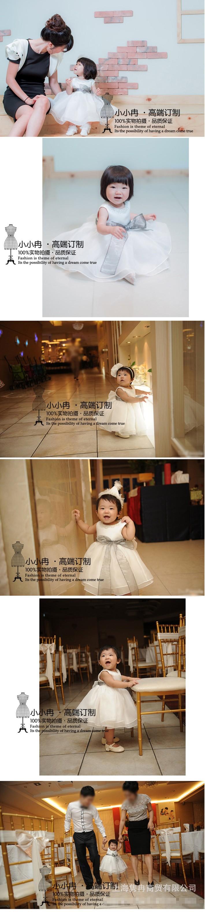 Скидки на ДЕТСКИЕ WOW Вечерние Платья Девочка Платье Vestido Infantil 1 год День Рождения Рождество Свадьба Крещение для Детей 80114