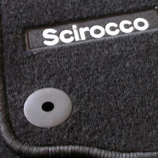 Vw scirocco original bit velvet mat vw scirocco special train velvet mat(China (Mainland))