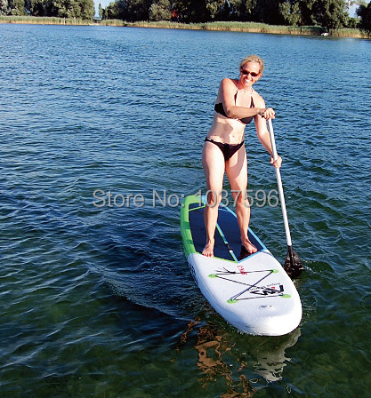 SPK-3 330*75*15CM inflatable surf board stand up paddle SUP KAYAK,inflatable,fishing boat,hand pump,carry bag, paddle(China (Mainland))
