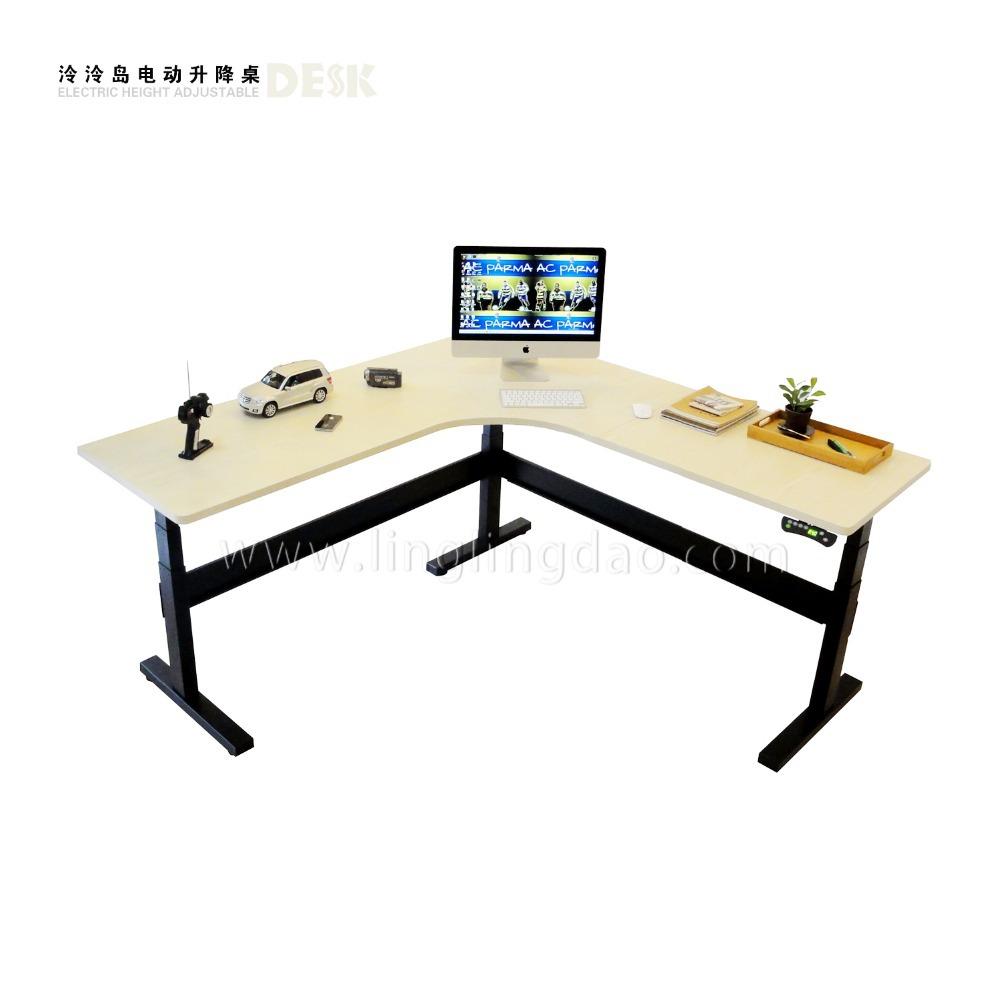legged electric height adjustable desk office desk ergonomic computer