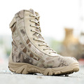Military Tactical Combat Waterproof Boots Army Men Ankle Desert Boots Autumn Spring Travel Hiking Outdoor Climbing