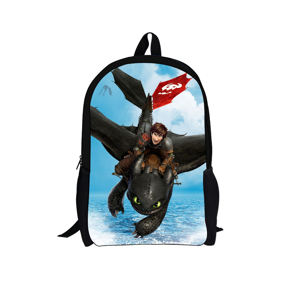 2014 New Arrival Cartoon Dragon School Backpack,Children How to Train Your Dragon Backpack Boys,Kids Students Shoulder Men Bags