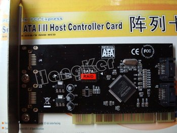 PCI-EXPRESS .2 CHANNEL SATA HOST CONTROLLER CARD