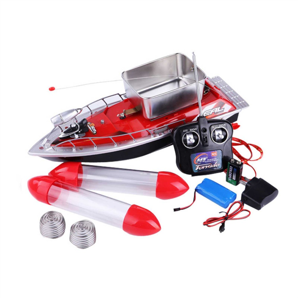 2016 hot sale high quality rc bait boat 280m 300m remote for Rc fishing boat for sale