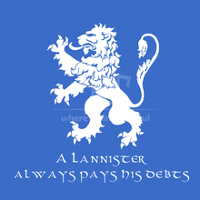game of thrones lannister pay debts male t shirt  o-neck 100% 180g  ring spun cotton short sleeve straight cut free shipping