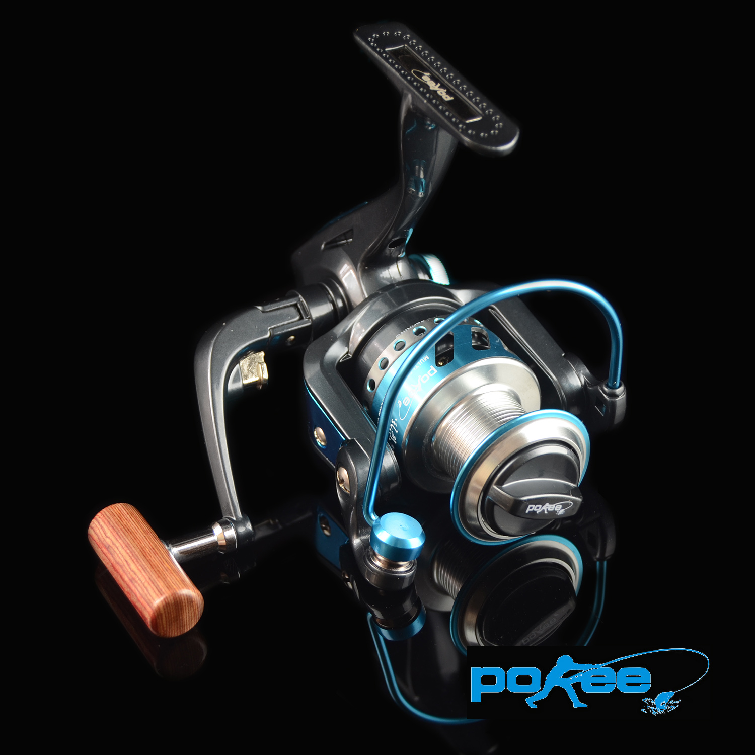 Fishing reel spinning for rock fishing pokee Genuine Pacific FL5000 open faced gear ration5.0:1spool line coil 0.3mm/200m(China (Mainland))