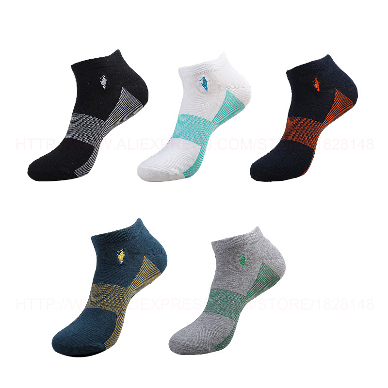 2015 New Autumn Leisure Fashion Socks Men Fine Stripe Mens Socks Brand Cotton Sock Men 5pairs