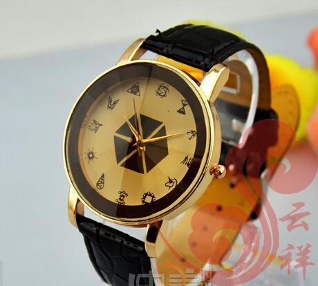 NEW EXO rim Black collective marks Contracted watches Free Shipping(China (Mainland))