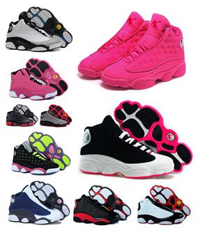 Free Shipping china Jordan 13 Women basketball shoes womens retro shoes sports shoes high shoes size 5.5-8.5 welcome to buy(China (Mainland))