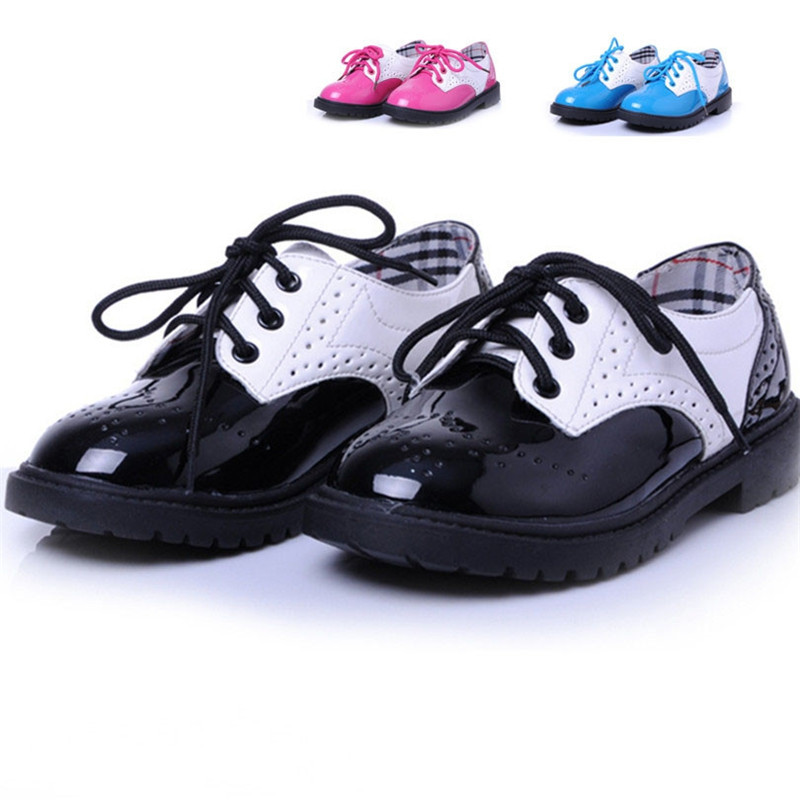 Fashion children shoes for girls kids leather shoes casual dress shoes brand comfortable kids girls&boys single shoes for dance(China (Mainland))