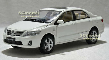 NEW arrivals 2012 TOYOTA COROLLA 1:18 Die Cast Model ON SALE white color