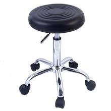 Factory Adjustable Round Bar Stool Swivel Salon Chair Styling Barber TATTOO/NAIL TECHNICIAN/HAIRDRESSER/HAIR CUT HW48528BK(China (Mainland))