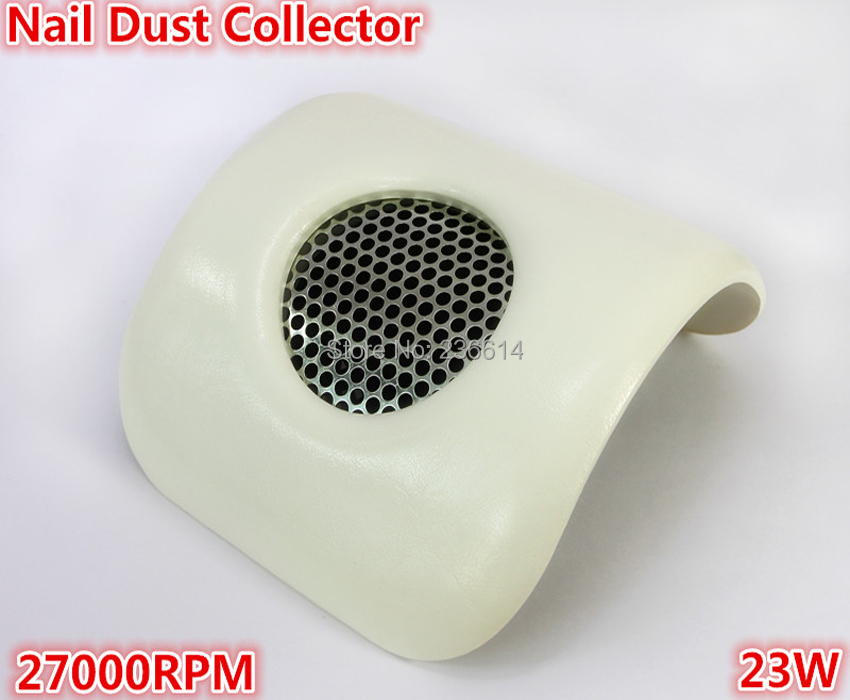 Free shipping professional manicure nail dust collector nail vacuum fan for salon shop(China (Mainland))