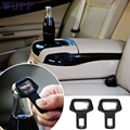 1PC Car safety belt clip Car Seat belt buckle Vehicle mounted Bottle Openers Levert Dropship