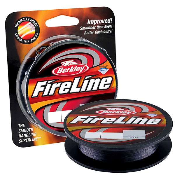 Berkley Brand Fireline Fused Original 114M 125yd Smoke Color Monofilament Fishing Line for Long and fast casting Superline(China (Mainland))