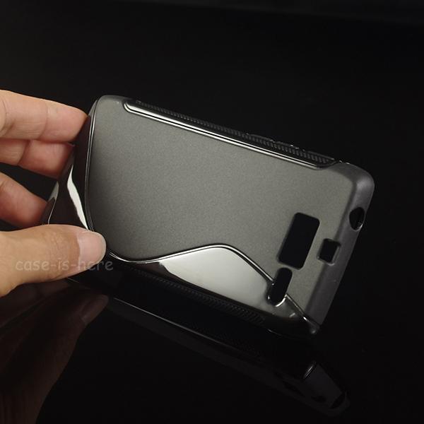 Soft S-Line Wave TPU Gel Cover Case Skin for Motorola Droid Razr M XT907 / Droid RAZR i XT890(China (Mainland))