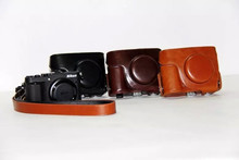 Free shipping original PU Leather Camera Bag Case Cover Pouch for Nikon Coolpix P7700 P7800