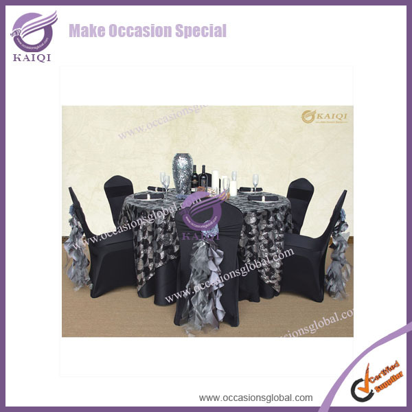 Silver Chair Cover Sashes
