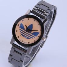 2015 amante movimiento de cuarzo mujeres hombres del reloj de alta calidad de aleación de acero inoxidable diseñador moda deportes de pulsera de marca