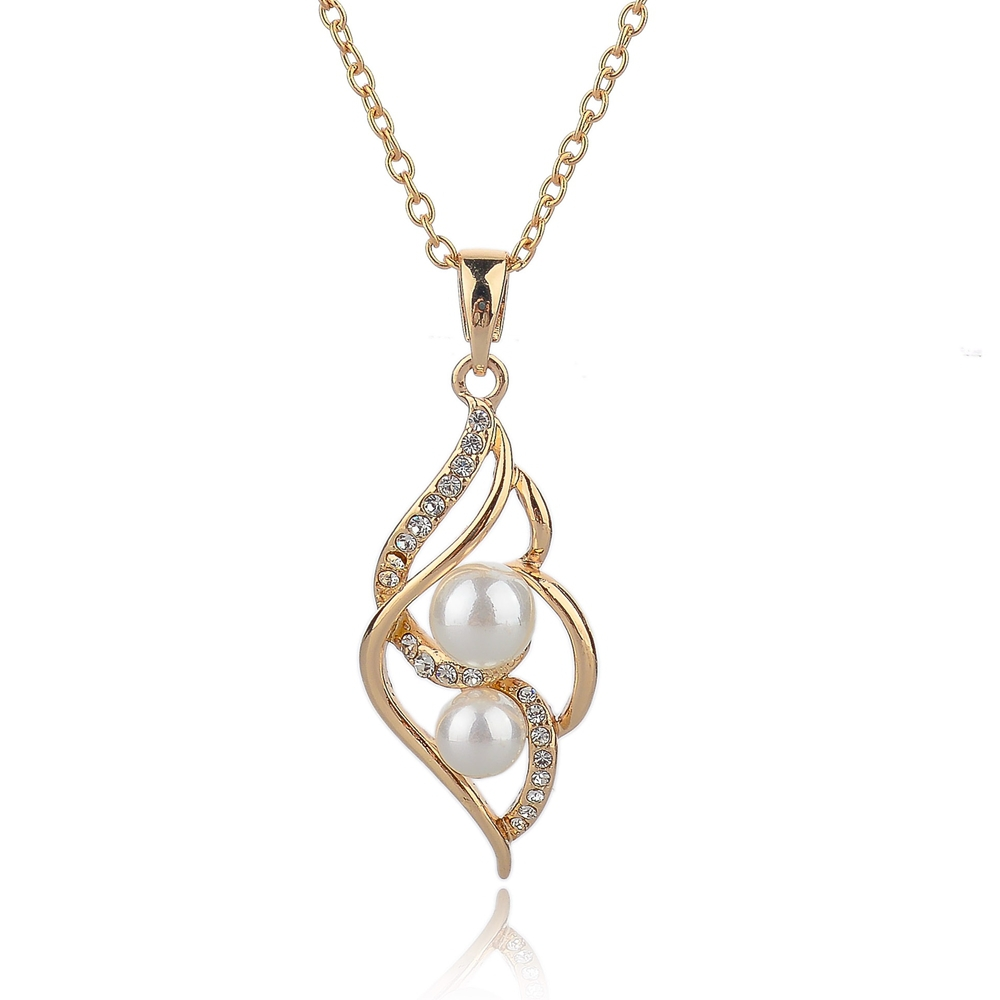 fashion gold silver chain wedding necklaces vintage