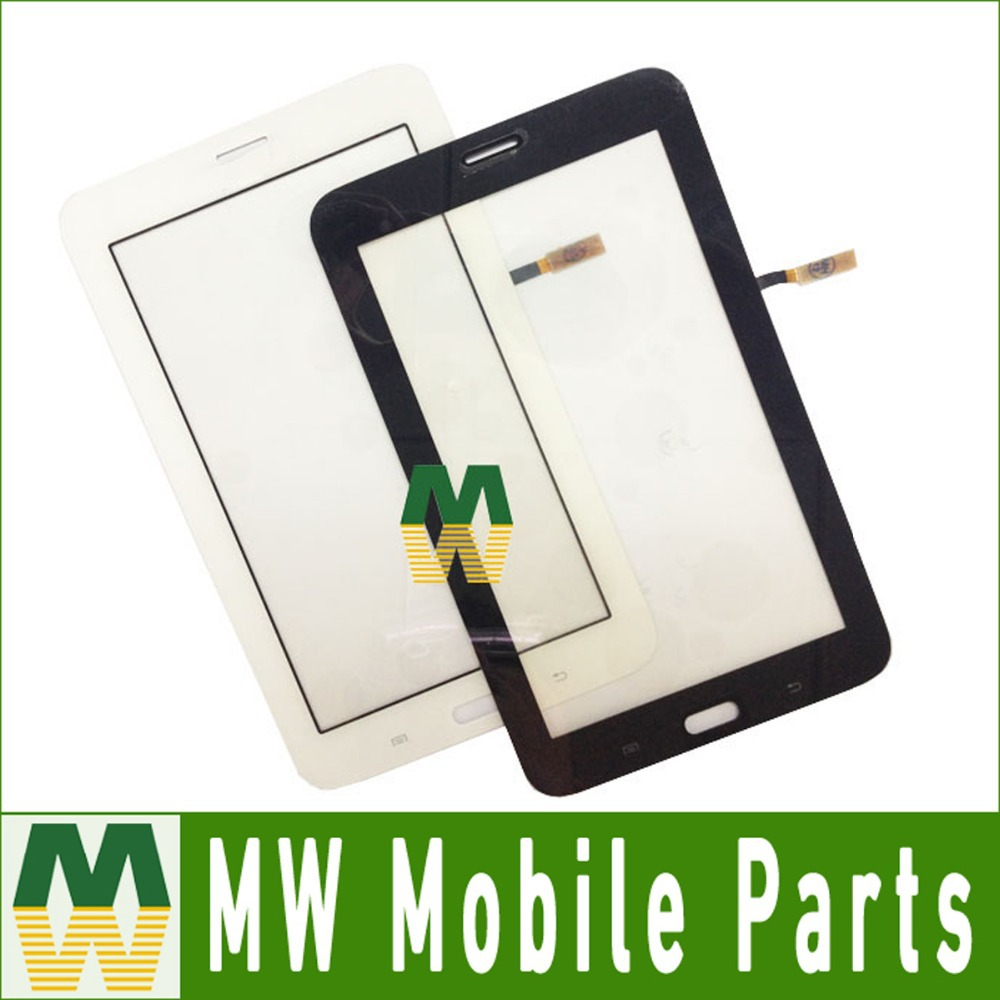 1PC/Lot For Samsung Galaxy Tab 3 Lite T111 Touch Glass Touch Screen Digitizer Replacement Black White Color Free Shipping