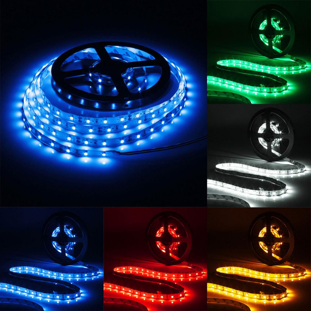 3M / 9.84Ft 12V 180 LEDs 3528 SMD Flexible Decorative Strip Light with Cigarette Charger and Reel for Cars / Trucks / Dashboards(China (Mainland))